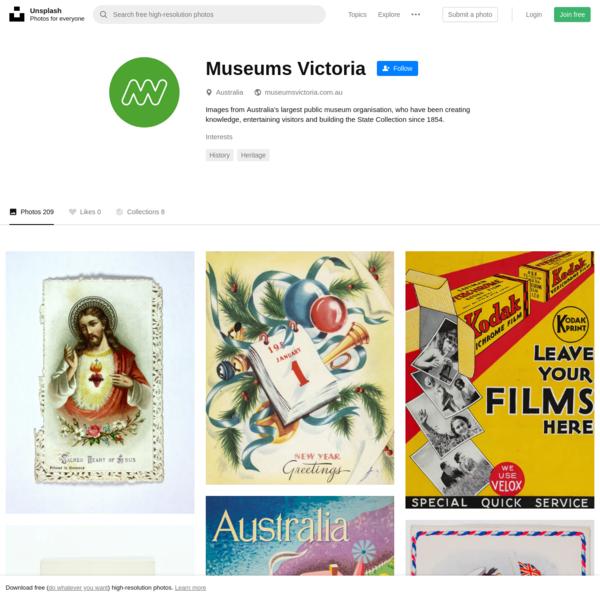 Museums Victoria (@museumsvictoria) | Unsplash Photo Community