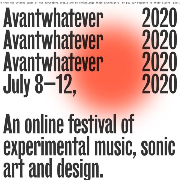 Avantwhatever, 2020