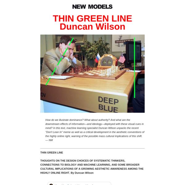 THIN GREEN LINE