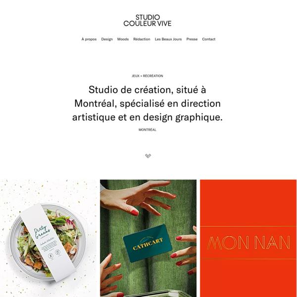 Studio Couleur Vive + Design