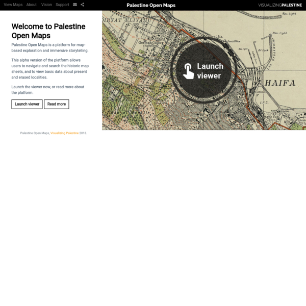 Palestine Open Map