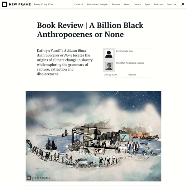 Book Review | A Billion Black Anthropocenes or None