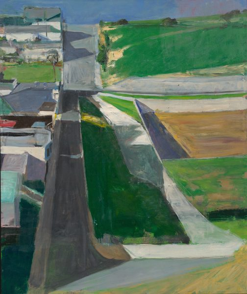 "Cityscape #1, Richard Diebenkorn, 1963 [""There may be no more beautiful painting of California than this 1963 work""]"