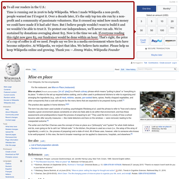 Mise en place - Wikipedia