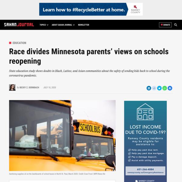Race divides Minnesota parents' views on schools reopening - Sahan Journal