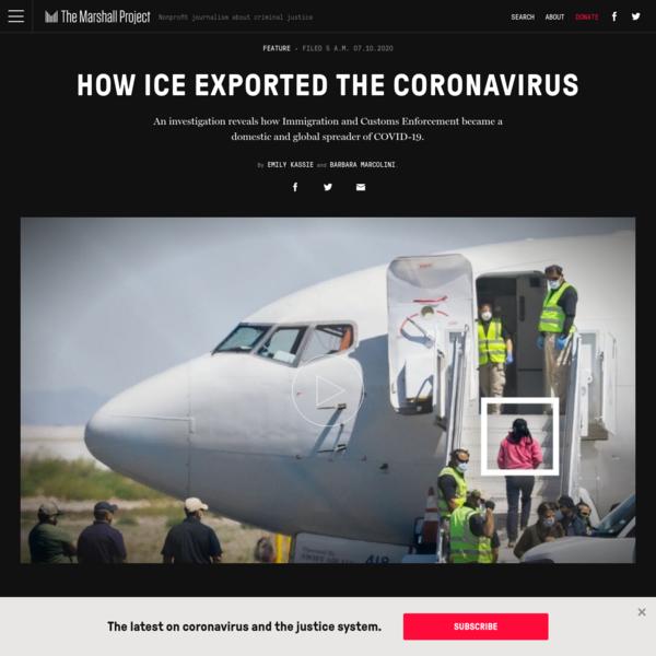 How ICE Exported the Coronavirus