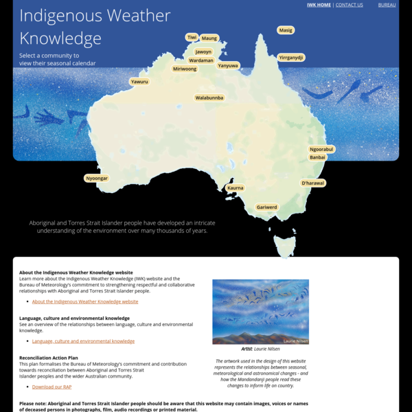 Indigenous Weather Knowledge