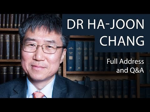 Dr Ha-Joon Chang | Full Address and Q&A | Oxford Union