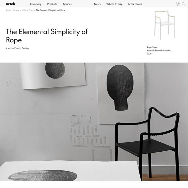 Artek - The Elemental Simplicity of Rope