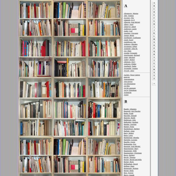 Sammlung Paul Heimbach: Künstlerbücher & Kataloge