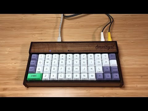 Amethyst: 8-Bit Home Computer, Powered By An AVR Microcontroller