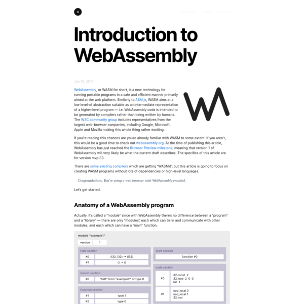 Introduction to WebAssembly