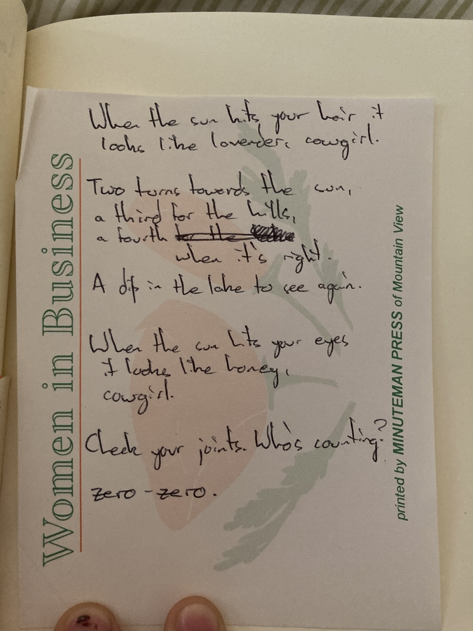 poem for hana