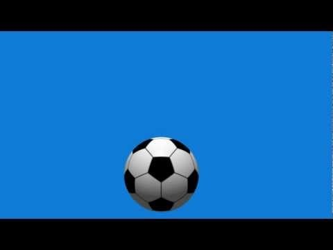 Bouncing Soccer Ball Animation