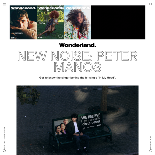 Peter Manos Talks Creativity, New Music And His New EP