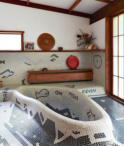 Nakashima House by George Nakashima in New Hope, Pennsylvania, USA