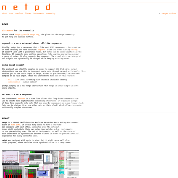 netpd about