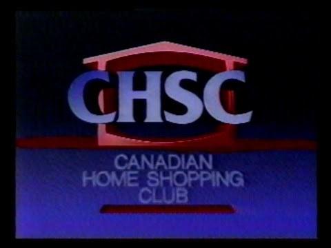 Canadian Home Shopping Club (CHSC) in 1988