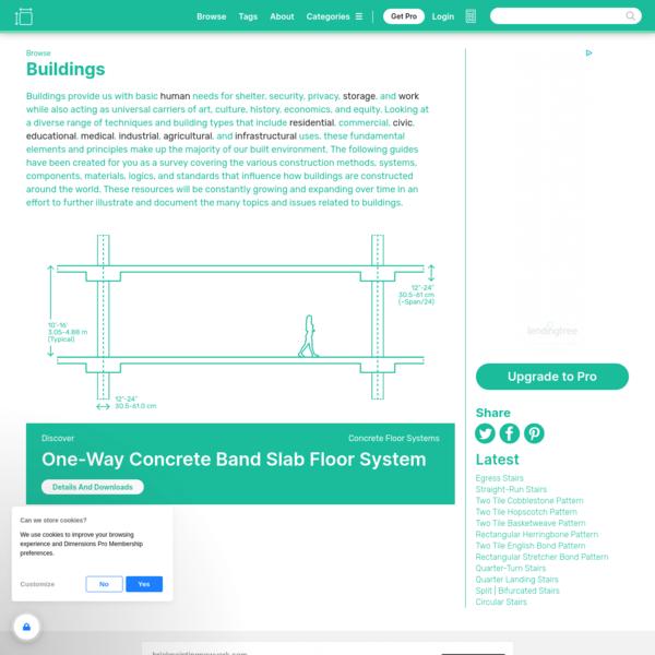 Buildings Dimensions & Drawings | Dimensions.com