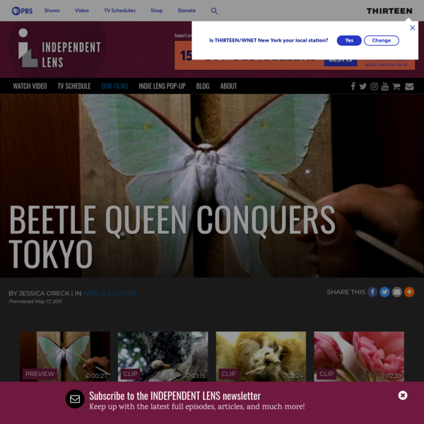 Beetle Queen Conquers Tokyo | Documentary Film about Japanese Bug Collectors | Independent Lens | PBS