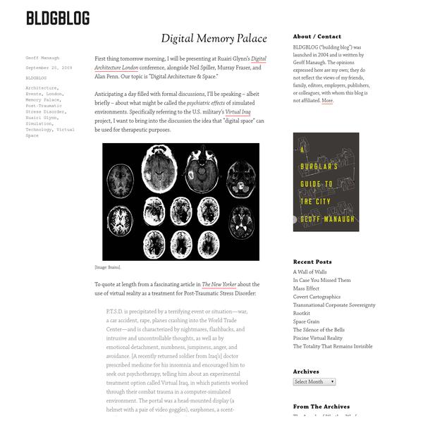 Digital Memory Palace