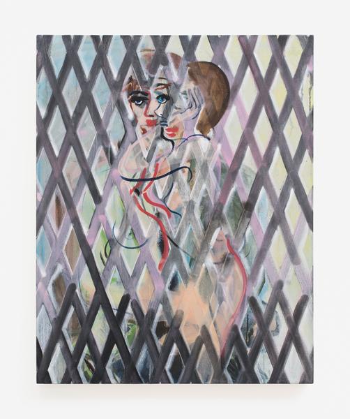 2016.11 Becky Kolsrud: Art Basel Miami Beach, Double Portrait (Shadow Gate), 2016