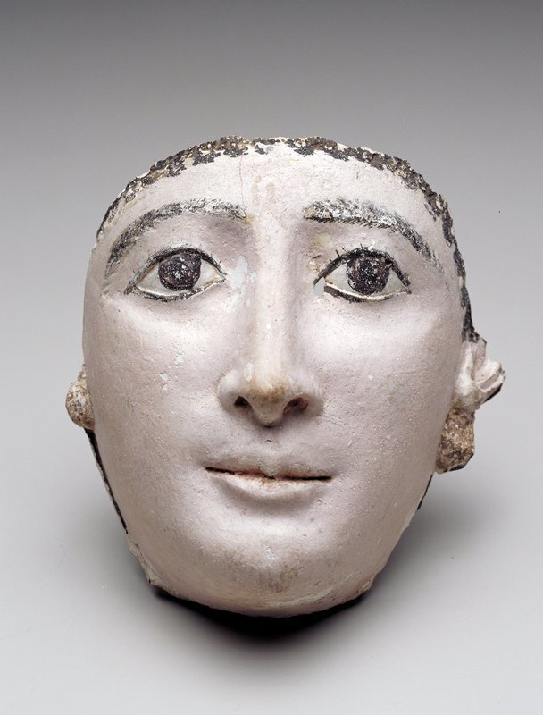 Funerary mask, 2nd c. Ancient Egyptian