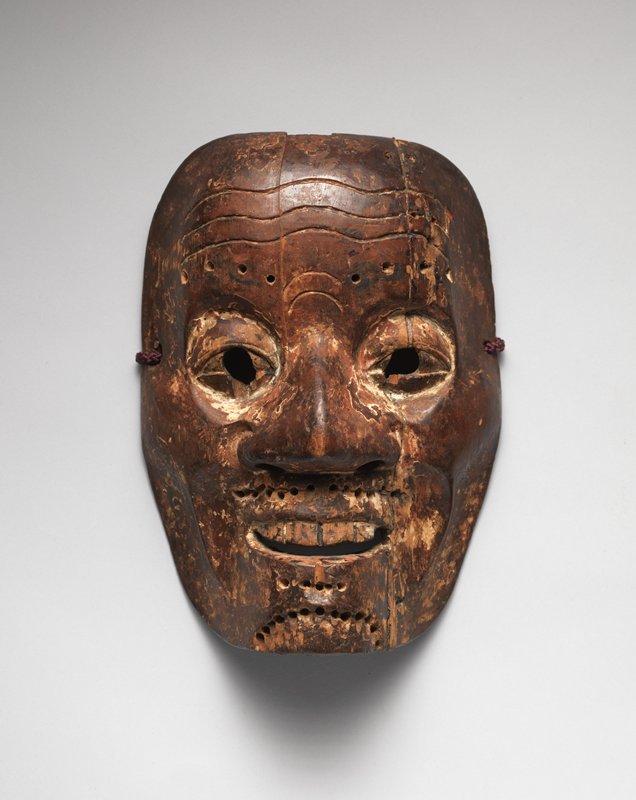 Noh mask, 16th c