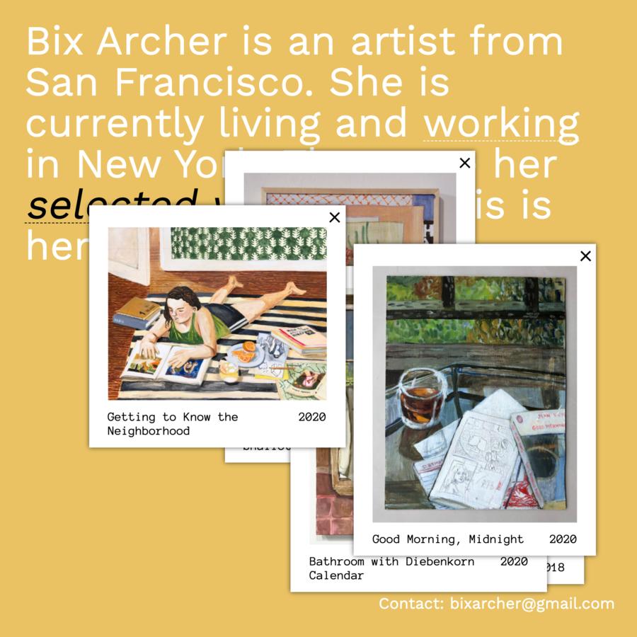Bix Archer Portfolio