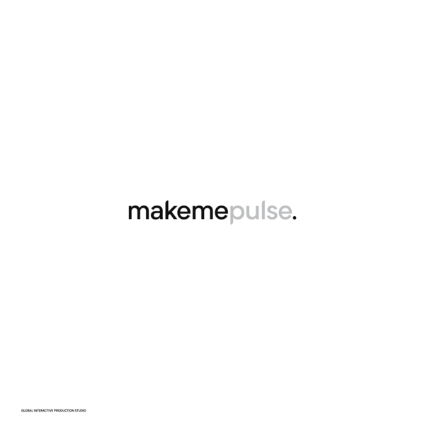 makemepulse - global interactive production studio