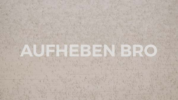 "This is ""Aufheben Bro (Screening Cut / Full)"" by Michael Stablein, Jr. on Vimeo, the home for high quality videos and the people who love them."
