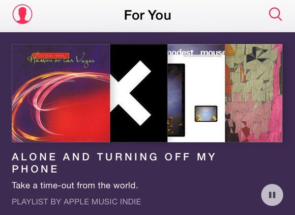 Apple Music Recommendation