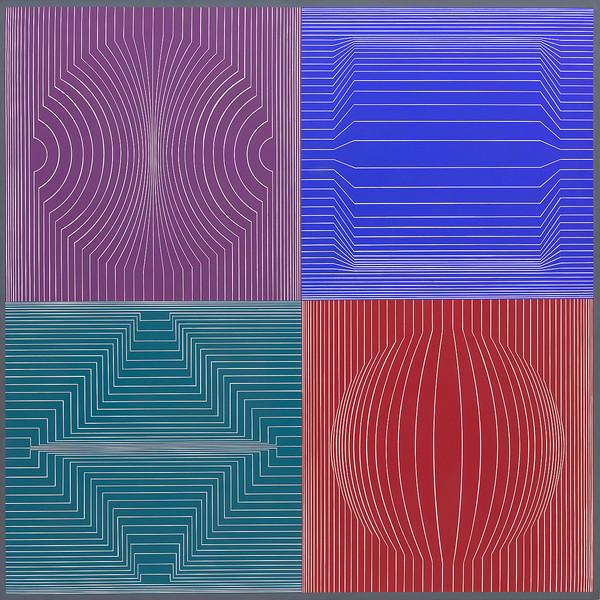 Victor Vasarely | Lacerta
