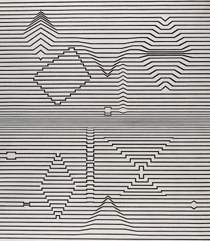 Victor Vasarely | Naissance, 1964