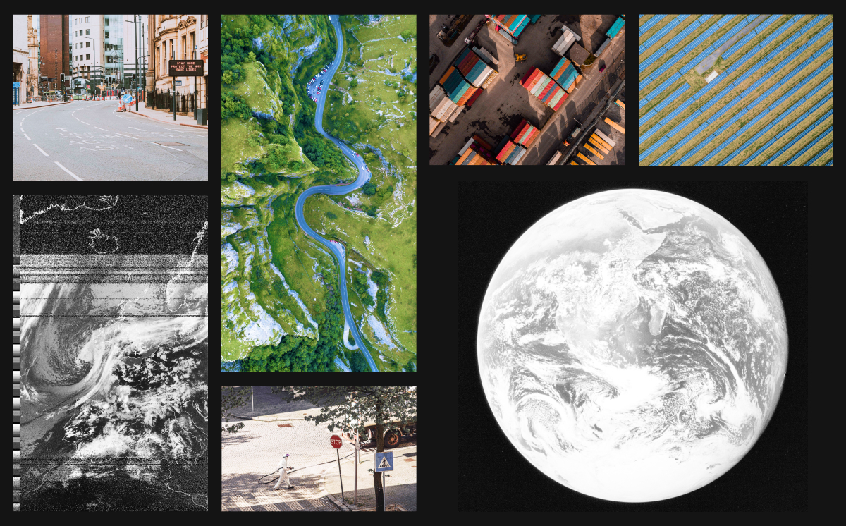 Aerial photography and the Earth from space