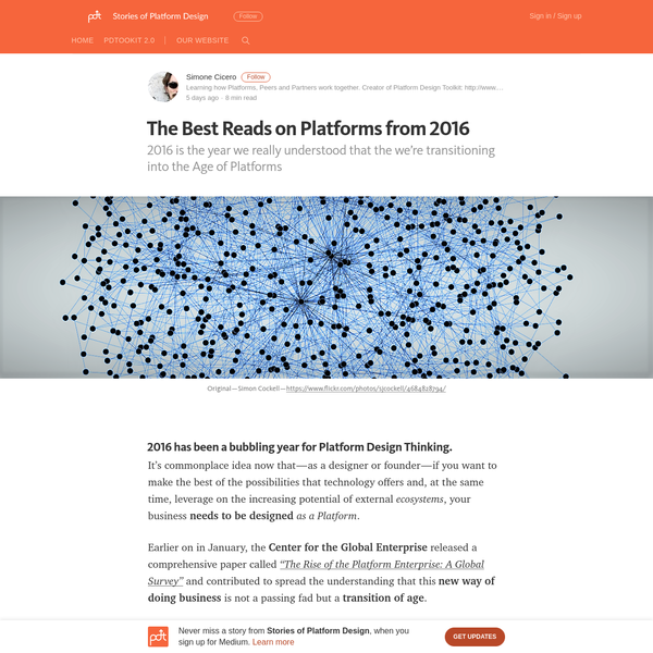 The Best Reads on Platforms from 2016