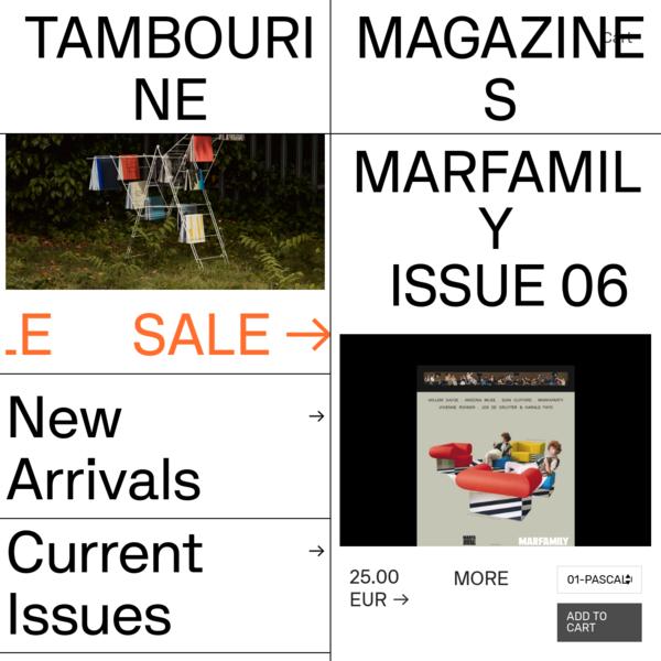 Marfamily - No.06 - Tambourine