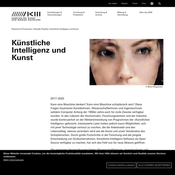 Künstliche Intelligenz und Kunst | 2017 bis 2020 | ZKM