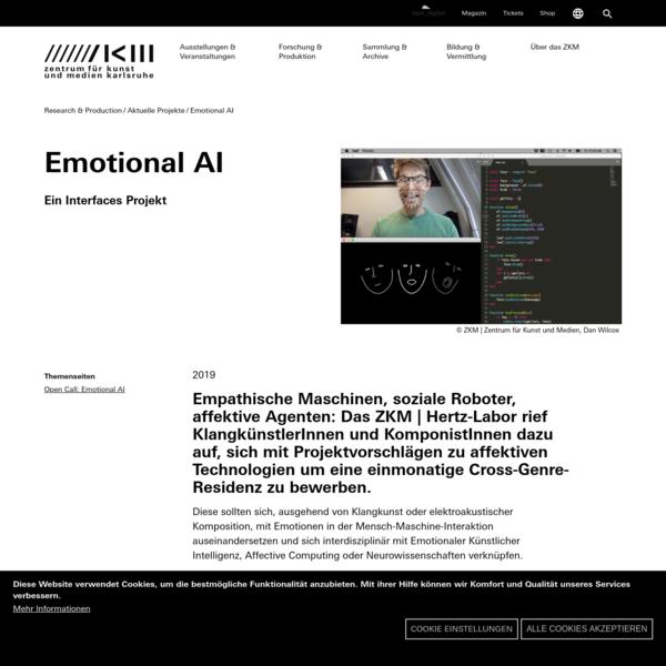 Emotional AI | 2019 | ZKM