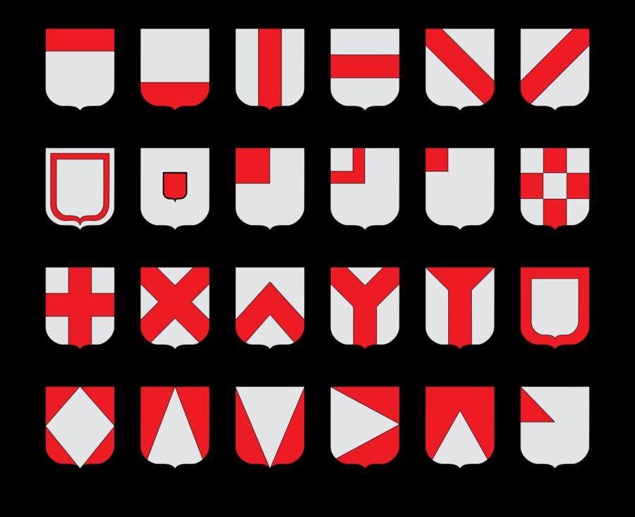 Les pièces honorables d'après le Larousse de 1923