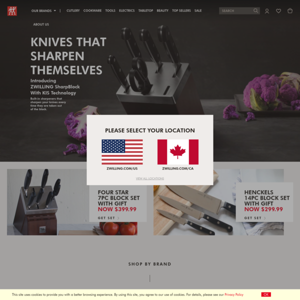 Official ZWILLING J.A. HENCKELS Store | Shop Cutlery, Cookware, Flatware & Kitchen Tools