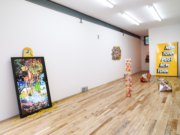 "Borna Sammak, Installation view, ""Jeff Cold Beer"", JTT, New York, 2012"