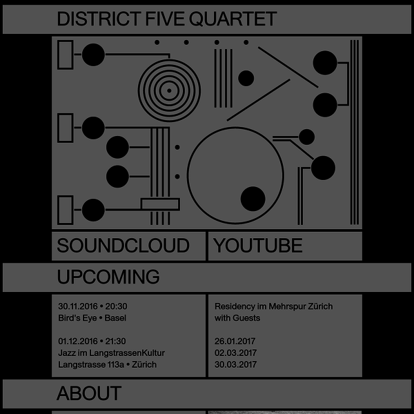 D5-4 * District Five Quartet