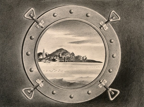 new-york-seen-through-the-porthole-of-an-arriving-ship-bringing-the-plague.-drawing-by-a.l.-tarter-194-..jpg