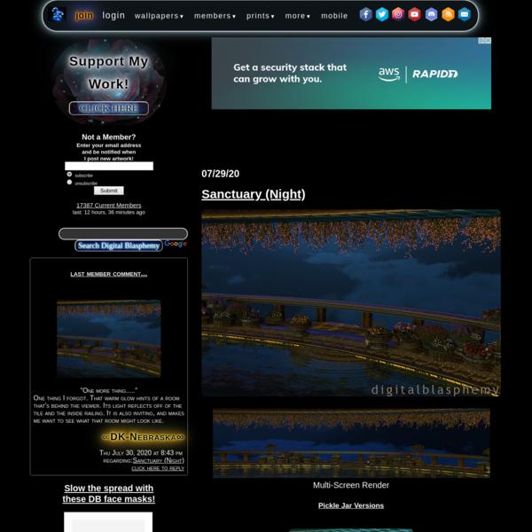 Digital Blasphemy 3D Wallpaper