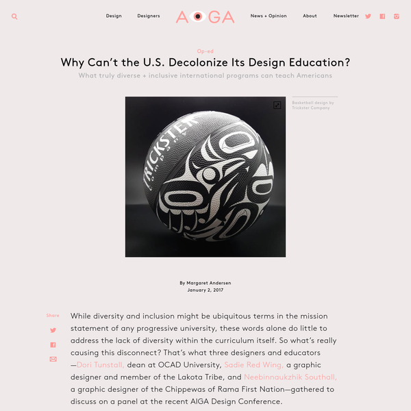 Why Can't the U.S. Decolonize Its Design Education?