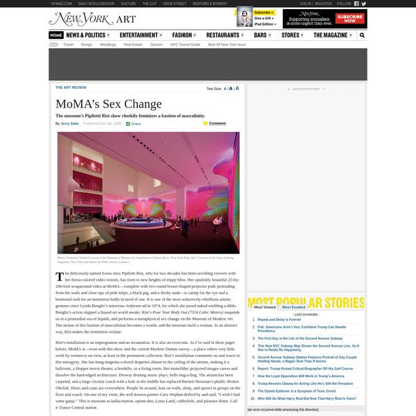 MoMA's Sex Change