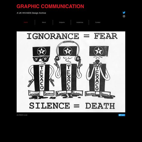 HIV/AIDS Graphic Communication & Design