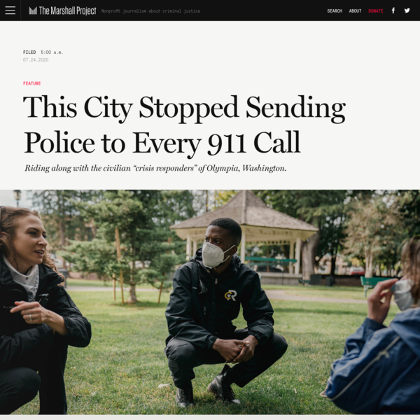 This City Stopped Sending Police to Every 911 Call