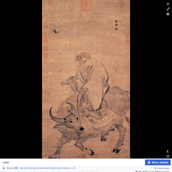 Laozi - Wikisource, the free online library